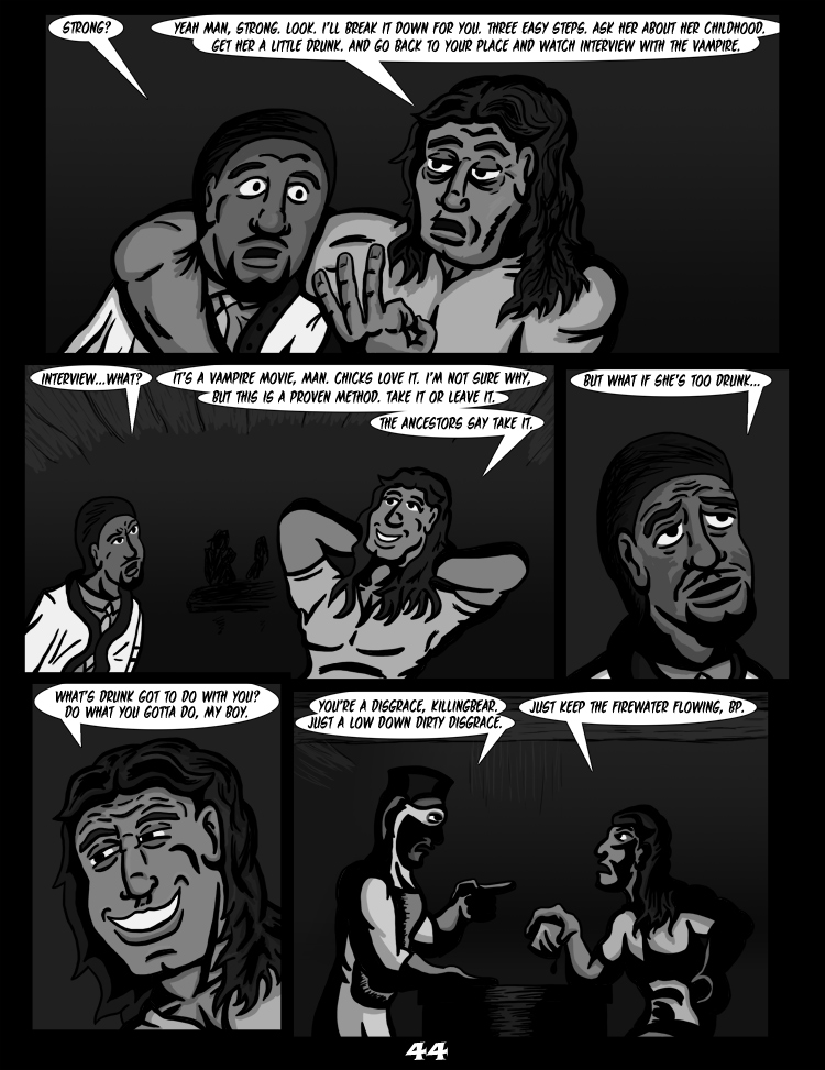 Black Snow: Two Drink Minimum page 44