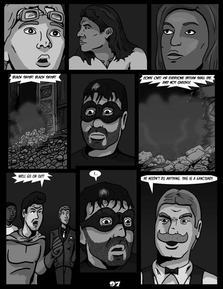 Black Snow: Two Drink Minimum page 97