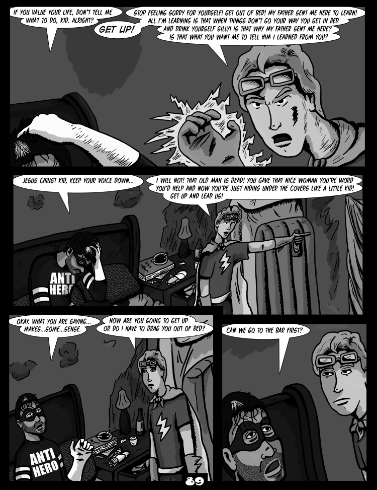 Black Snow: Two Drink Minimum page 89