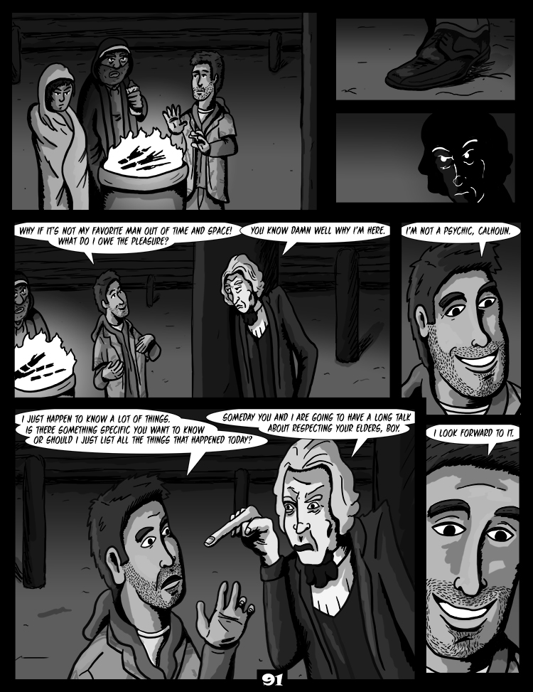 Black Snow: Two Drink Minimum page 91