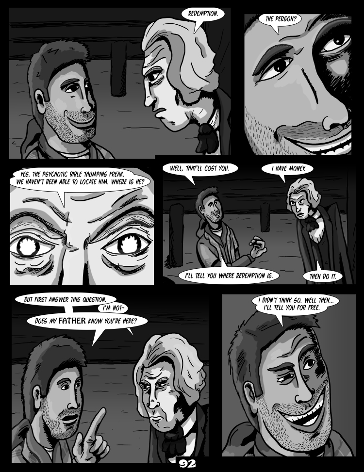 Black Snow: Two Drink Minimum page 92