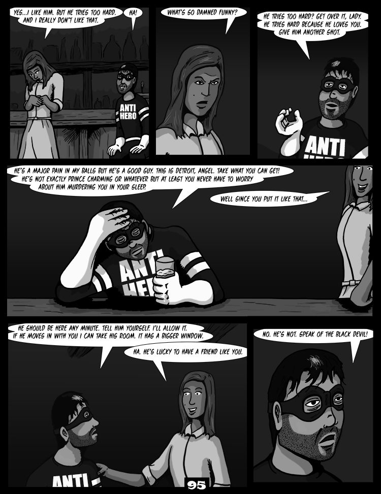 Black Snow: Two Drink Minimum page 95