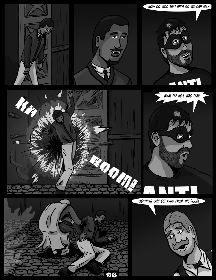 Black Snow: Two Drink Minimum page 96