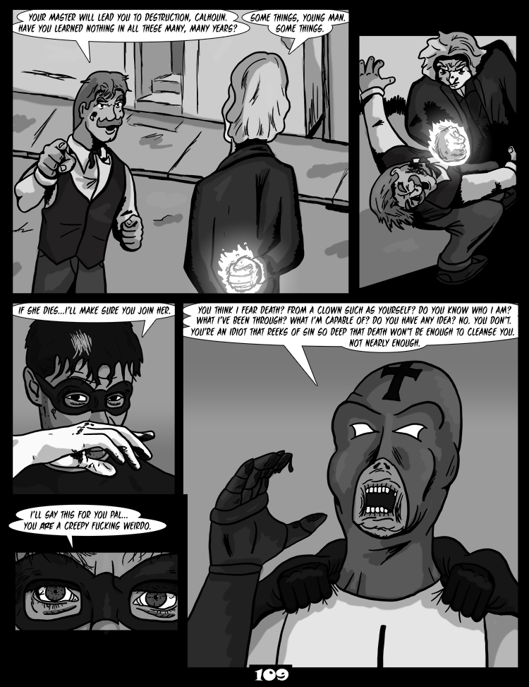 Black Snow: Two Drink Minimum page 109