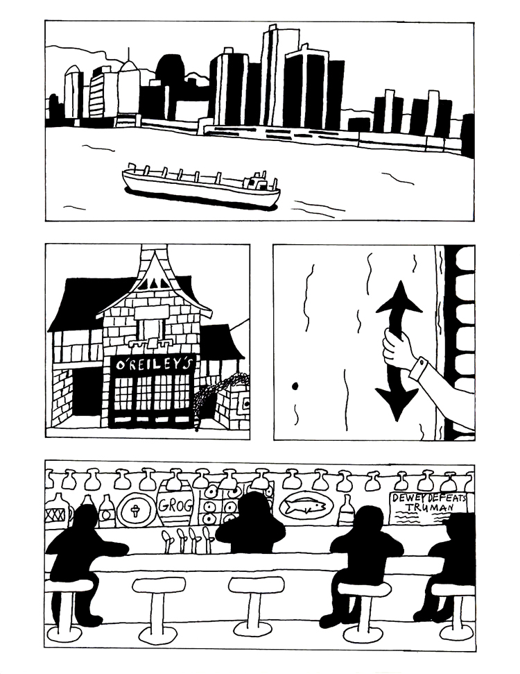 Black Snow issue 1 page 1