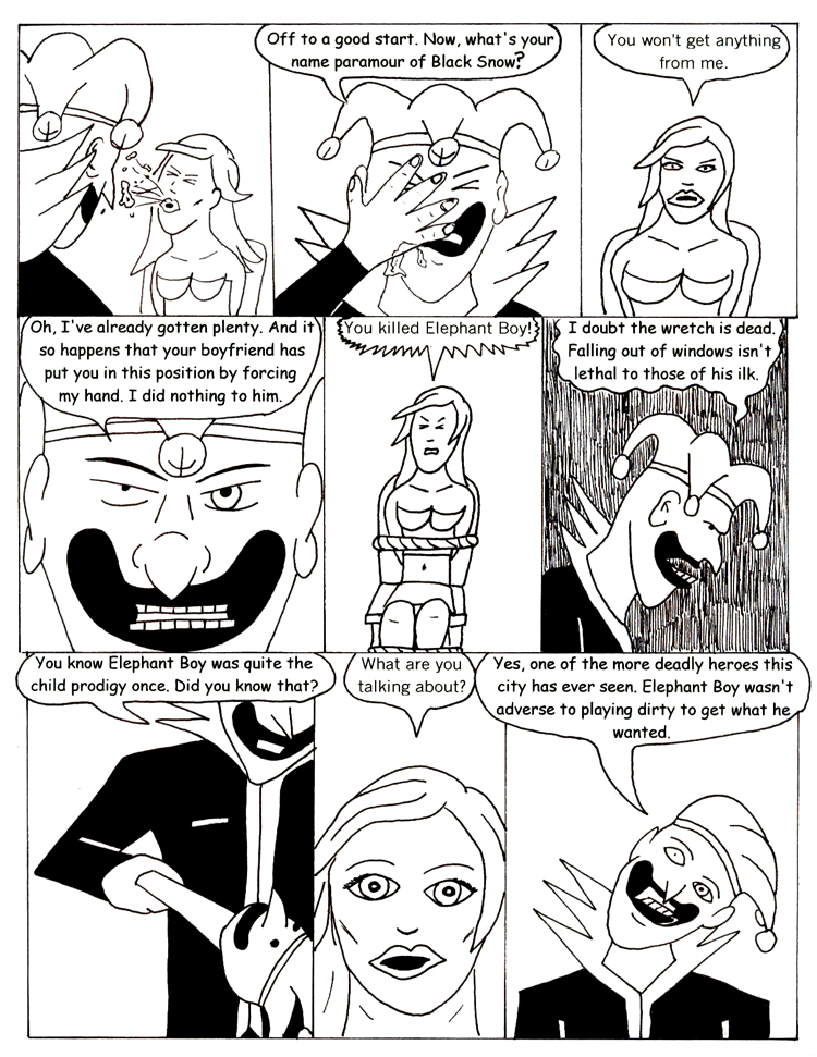 Black Snow issue 3 page 19
