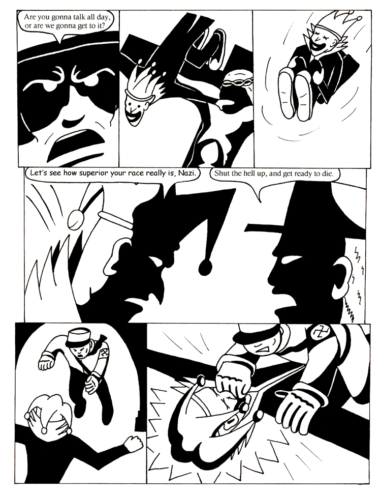 Black Snow issue 5 page 11