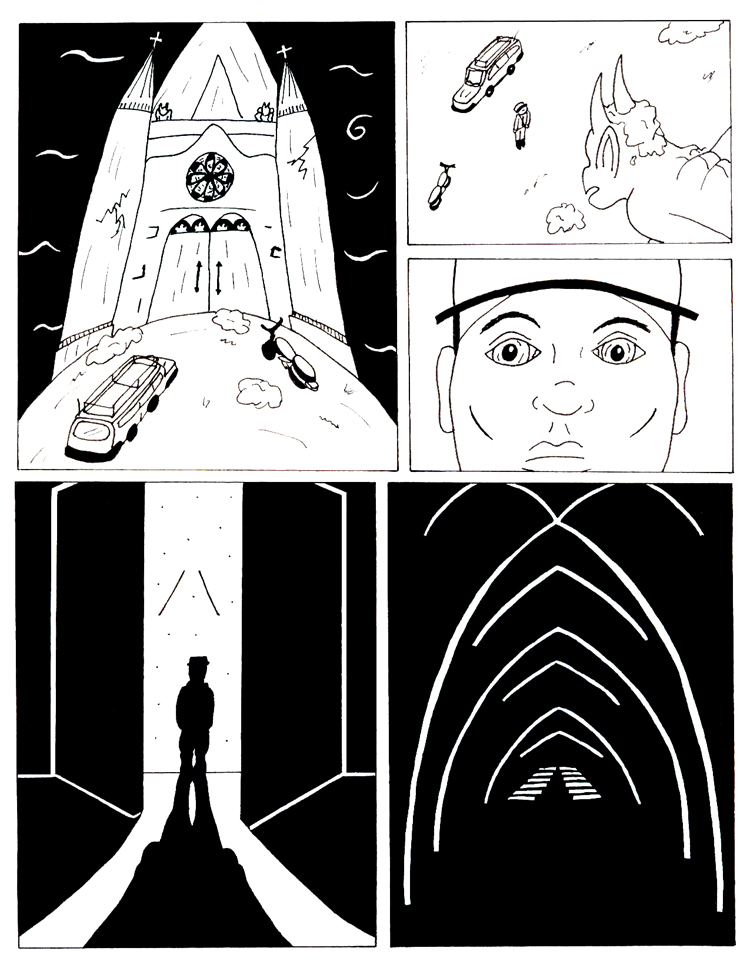 Black Snow issue 5 page 8
