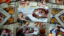I'm Famous Sistine Chapel ceiling desktop background